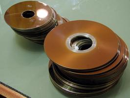 hard drive platters